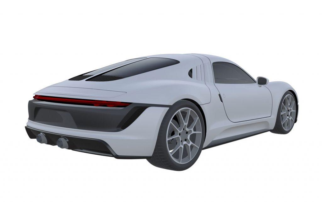 Was plant Porsche mit diesem kompakten Sportwagen?